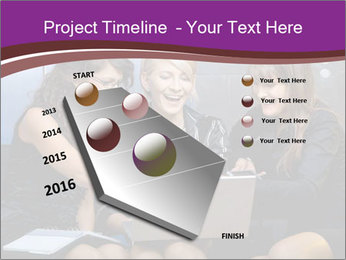 Team of young businesswoman PowerPoint Templates - Slide 26