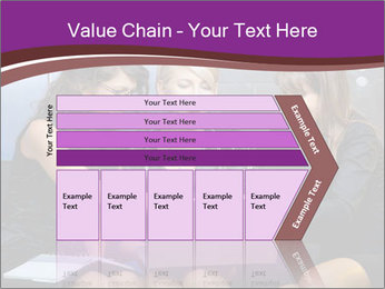 Team of young businesswoman PowerPoint Templates - Slide 27
