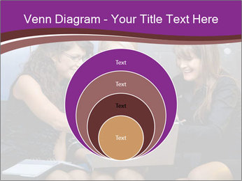 Team of young businesswoman PowerPoint Templates - Slide 34