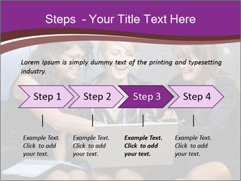 Team of young businesswoman PowerPoint Templates - Slide 4