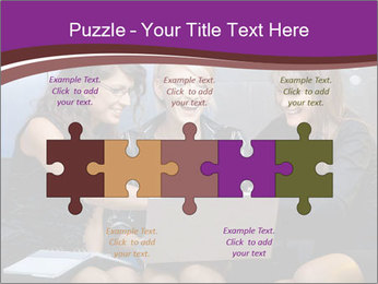 Team of young businesswoman PowerPoint Templates - Slide 41