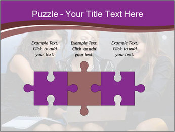 Team of young businesswoman PowerPoint Templates - Slide 42
