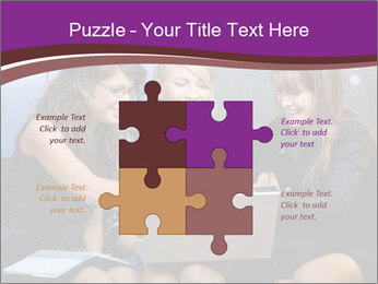 Team of young businesswoman PowerPoint Templates - Slide 43