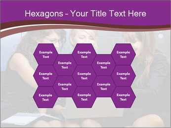 Team of young businesswoman PowerPoint Templates - Slide 44