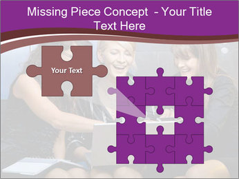 Team of young businesswoman PowerPoint Templates - Slide 45