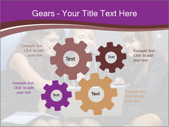 Team of young businesswoman PowerPoint Templates - Slide 47