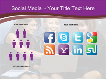Team of young businesswoman PowerPoint Templates - Slide 5