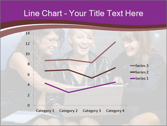 Team of young businesswoman PowerPoint Templates - Slide 54