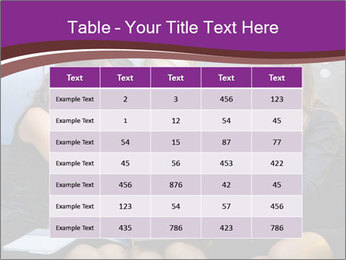 Team of young businesswoman PowerPoint Templates - Slide 55
