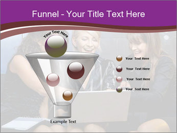Team of young businesswoman PowerPoint Templates - Slide 63