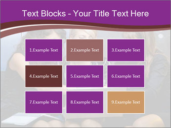 Team of young businesswoman PowerPoint Templates - Slide 68