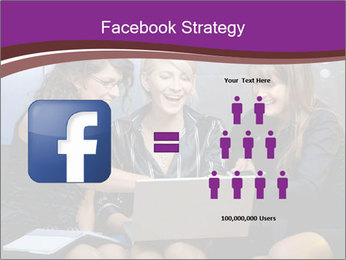 Team of young businesswoman PowerPoint Templates - Slide 7