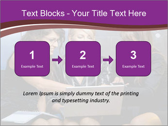 Team of young businesswoman PowerPoint Templates - Slide 71