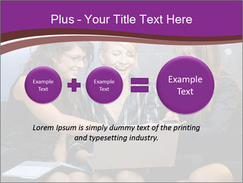 Team of young businesswoman PowerPoint Templates - Slide 75