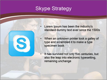 Team of young businesswoman PowerPoint Templates - Slide 8
