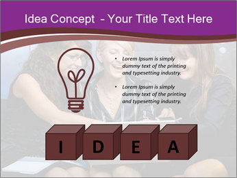 Team of young businesswoman PowerPoint Templates - Slide 80