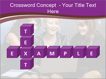 Team of young businesswoman PowerPoint Templates - Slide 82