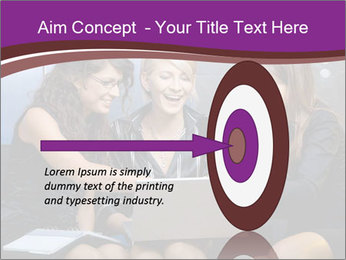 Team of young businesswoman PowerPoint Templates - Slide 83