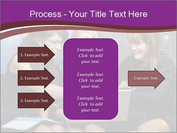 Team of young businesswoman PowerPoint Templates - Slide 85