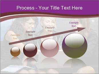 Team of young businesswoman PowerPoint Templates - Slide 87