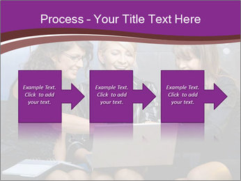 Team of young businesswoman PowerPoint Templates - Slide 88
