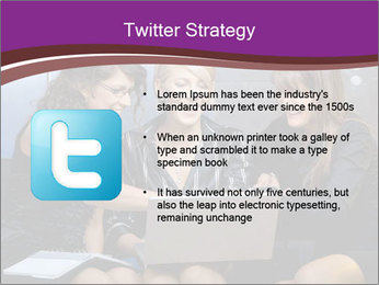 Team of young businesswoman PowerPoint Templates - Slide 9