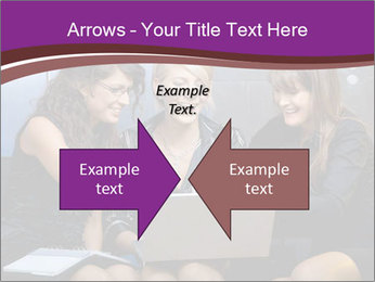 Team of young businesswoman PowerPoint Templates - Slide 90