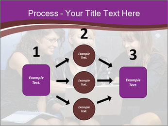 Team of young businesswoman PowerPoint Templates - Slide 92
