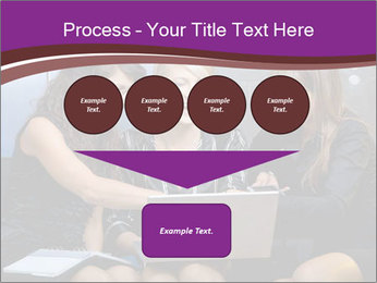 Team of young businesswoman PowerPoint Templates - Slide 93