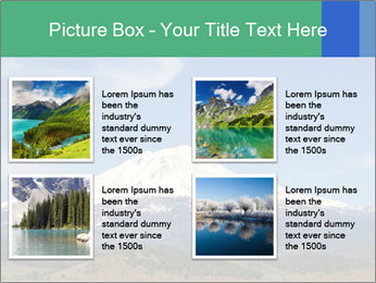 Mount in Northern California PowerPoint Template - Slide 14