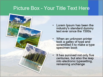 Mount in Northern California PowerPoint Template - Slide 17