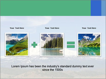 Mount in Northern California PowerPoint Template - Slide 22