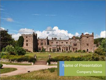 Muncaster Castle PowerPoint Templates - Slide 1