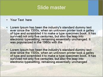Muncaster Castle PowerPoint Template - Slide 2
