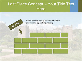 Muncaster Castle PowerPoint Template - Slide 46