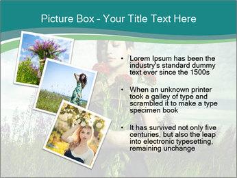 Romantic girl PowerPoint Templates - Slide 17