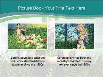 Romantic girl PowerPoint Templates - Slide 18