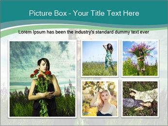 Romantic girl PowerPoint Templates - Slide 19