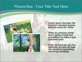 Romantic girl PowerPoint Templates - Slide 20