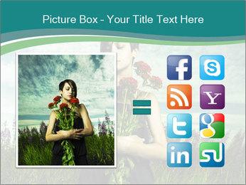 Romantic girl PowerPoint Templates - Slide 21