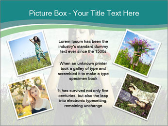 Romantic girl PowerPoint Templates - Slide 24