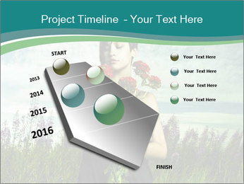 Romantic girl PowerPoint Templates - Slide 26