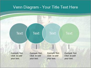 Romantic girl PowerPoint Templates - Slide 32