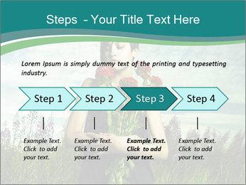 Romantic girl PowerPoint Templates - Slide 4