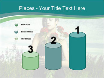 Romantic girl PowerPoint Templates - Slide 65