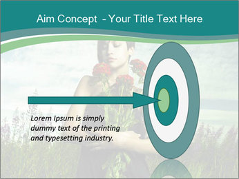 Romantic girl PowerPoint Templates - Slide 83
