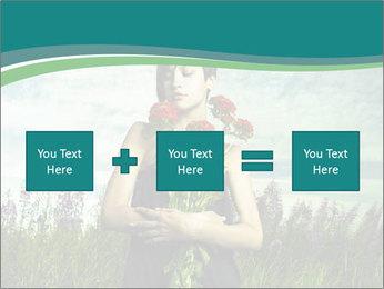Romantic girl PowerPoint Templates - Slide 95