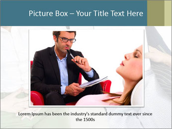 Psychiatrist with patient PowerPoint Templates - Slide 15