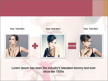 Fashion woman PowerPoint Template - Slide 22