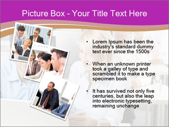 Young business people PowerPoint Templates - Slide 17